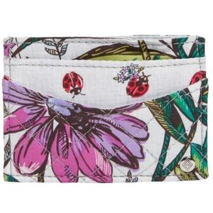 Vera Bradley Card Case Slim Signature Cotton